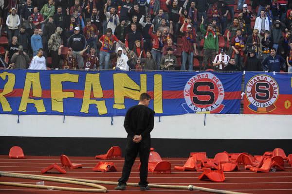 Kibice Sparty Praga /AFP