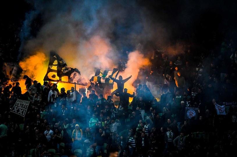 Kibice Sportingu Lizbona /AFP