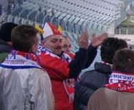 Kibice świetnie dopingowali swoich piłkarzy /INTERIA.PL