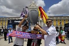 Kibice szturmowali Lizbonę!