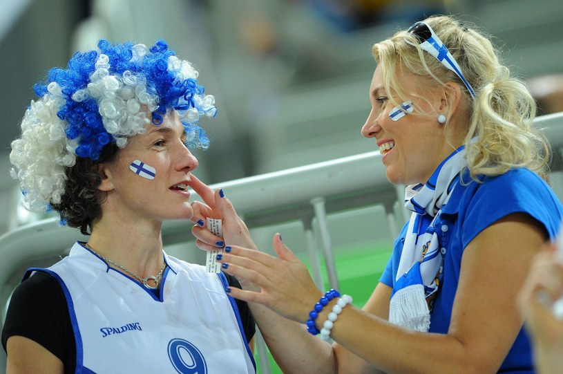 Kibice z Finlandii /AFP