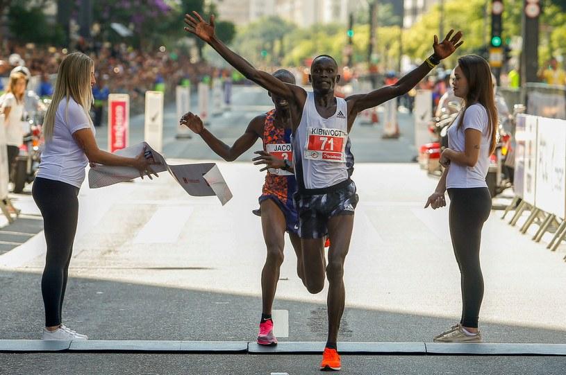 Kibiwott Kandie wygrał bieg w Sao Paulo /AFP