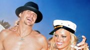Kid Rock i Pamela Anderson po ślubie