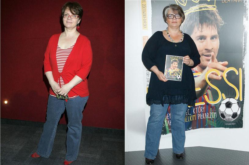 Kiedy Dorota Zawadzka, pojawiła się w telewizji, miała rubensowskie kształty. Przeszła jednak na dietę białkową i zrzuciła 18 kilogramów. Planowała też schudnąć kolejne 7. Nie udało się - Dorota wróciła do dawnej wagi /- /East News