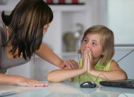 """Kiedy mówisz dziecku """"nie"""" ważne byś była konsekwentna /© Panthermedia"""