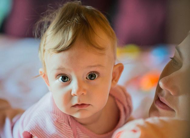 Kiedy niemowlę straci zainteresowanie zabawką, zwykle zaczyna marudzić. /123RF/PICSEL