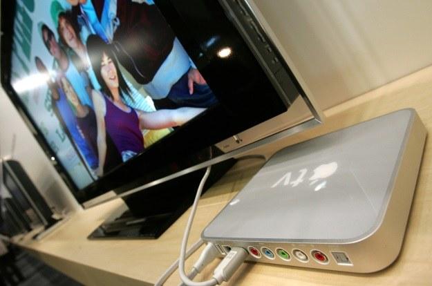 Kiedy w końcu świat ujrzy telewizor Apple? /AFP