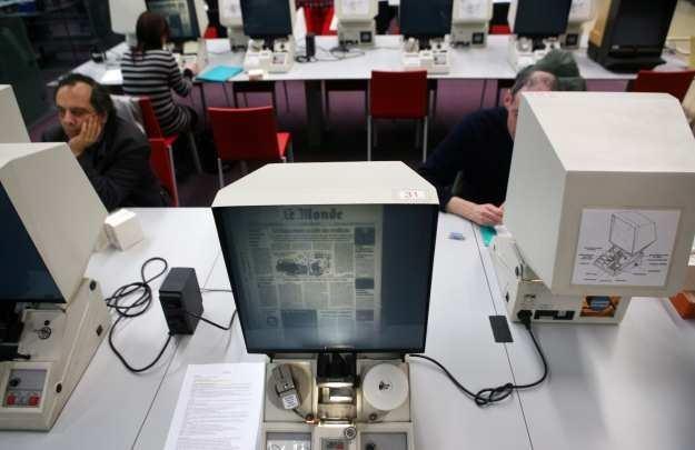 Kiedyś cyfrowa biblioteka kojarzyła się z takimi rozwiązaniami - dzisiaj  odchodzi to do lamusa /AFP