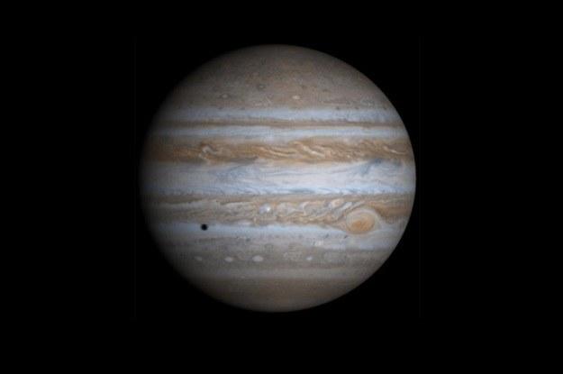 Kiedyś Jowisz był tak blisko Słońca, jak Mars teraz /NASA