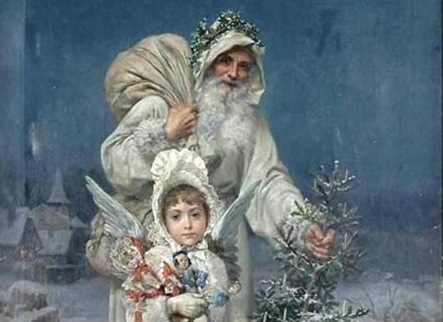 Kiedyś św. Mikołaja wyobrażano sobie nieco inaczej... /Agnieszka Lisak – blog historyczno-obyczajowy
