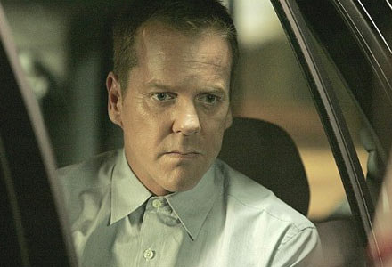 """Kiefer Sutherland w """"24 godzinach"""" /"""