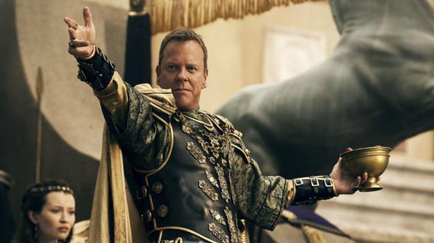 """Kiefer Sutherland w filmie """"Pompeje"""". /materiały dystrybutora"""