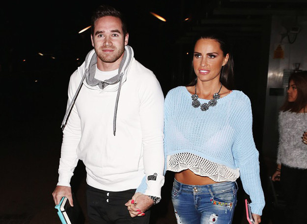 Kieran Hayler i Katie Price /Splash News /East News