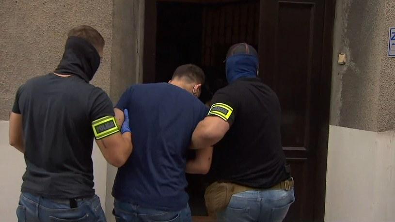 Kierowca autobusu w Katowicach został doprowadzony do prokuratury /Polsat News