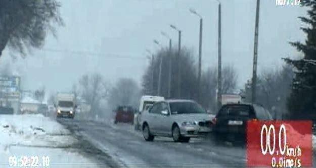 Kierowca BMW chciał uniknąć kontroli. Ale to dopiero początek /RMF FM