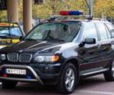 Kierowca BOR rozbił BMW