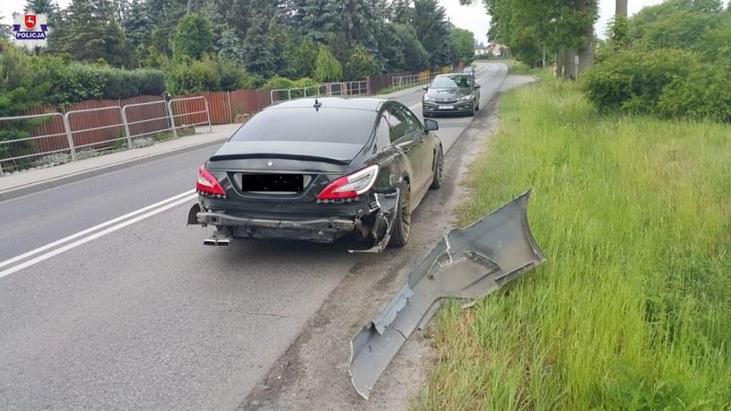 Kierowca był kompletnie pijany /