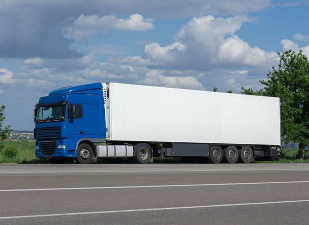 Kierowca ciężarówki stracił panowanie nad pojazdem i wpadł do rowu /Zdjęcie ilustracyjne /123RF/PICSEL