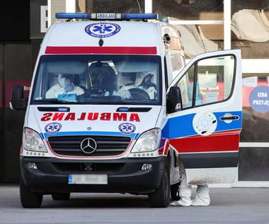 Kierowca covidowej karetki spowodował śmiertelny wypadek