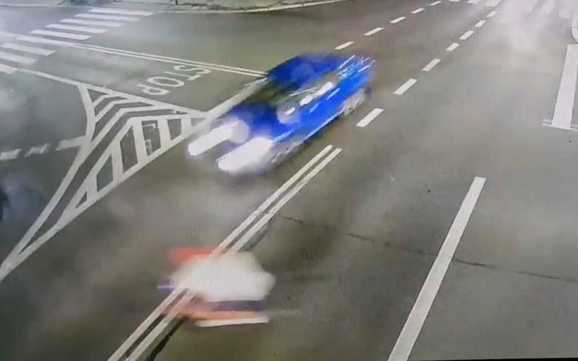 Kierowca nie miał szans na uniknięcie potrącenia /