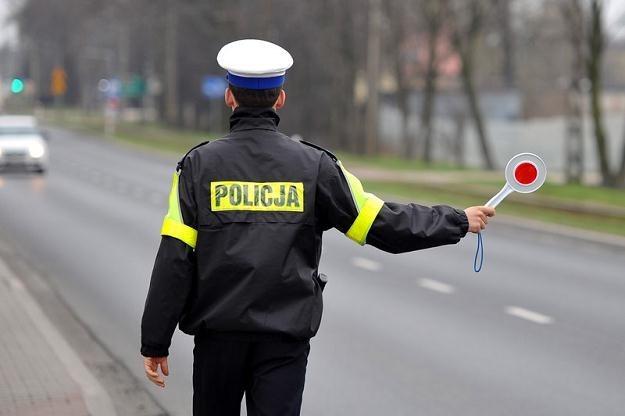 Kierowca nie zatrzymał się do kontroli i zaczął uciekać / Fot: Przemysław Jach /Agencja SE/East News