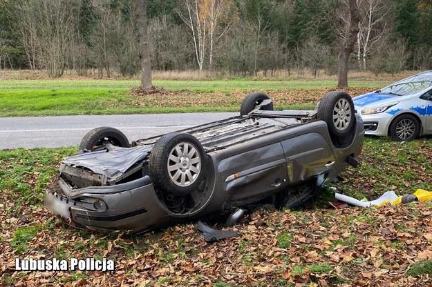 Kierowca pojazdu miał prawie trzy promile alkoholu w organizmie /Lubelska Policja /