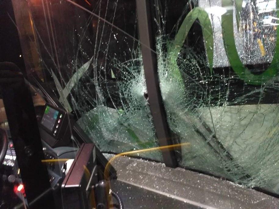 Kierowca, reagując na sytuację, nie zaciągnął hamulca i spowodował kolizję. /Facebook