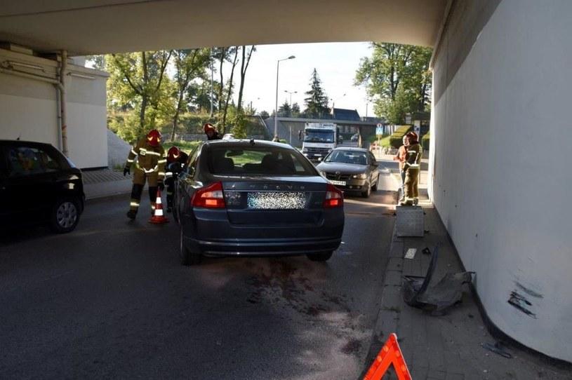 """Kierowca tego volvo """"wydmuchał"""" 6 promili! /Policja"""
