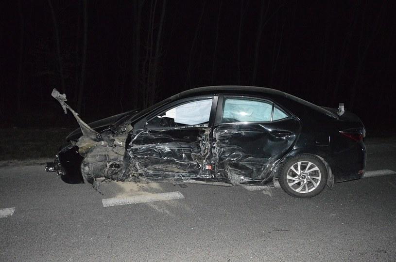 Kierowca Toyoty skręcał w lewo /Policja