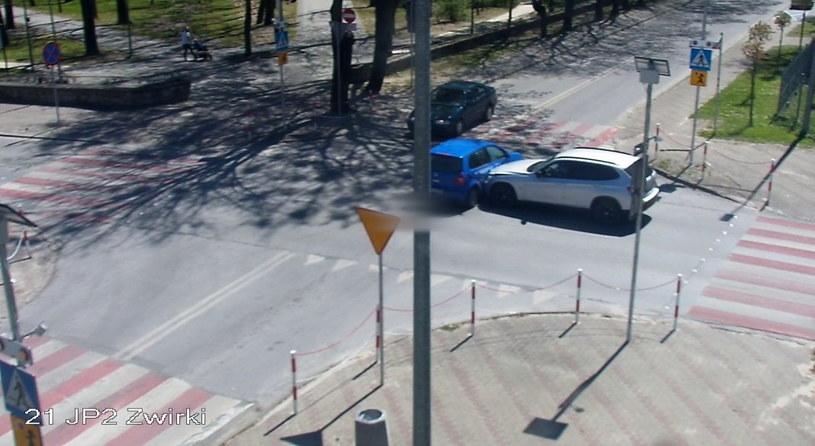 Kierowca VW wymusił pierwszeństwo na kierowcy BMW /Policja
