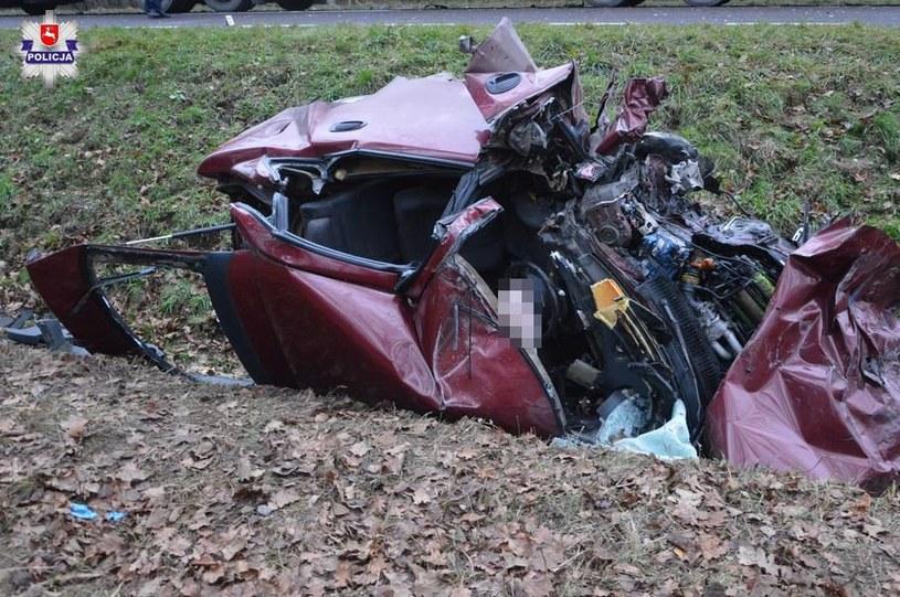 Kierowca w ciężkim stanie trafił do szpitala /