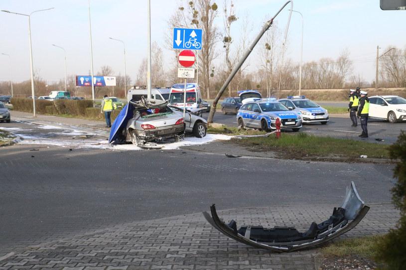 Kierowca zginął na miejscu /Jarosław Jakubczak / Polska Press /East News