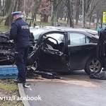 Kierowca zginął, pasażer uciekł. Policja szuka świadków tragicznego wypadku w Nowej Hucie