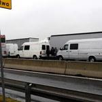Kierowcy ciężarówek muszą czekać 13 godzin na przejściu w Dorohusku