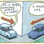 Kierowcy (n)a telefon