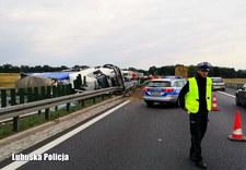 Kierowcy nagrywali skutki wypadku. Dostali mandaty