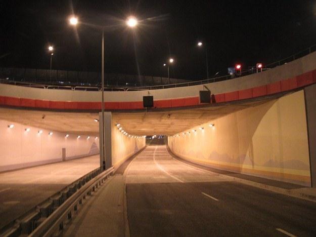 Kierowcy najdłużej czekali na otwarcie tunelu /RMF