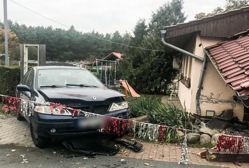Kierowcy nic się nie stało /Policja
