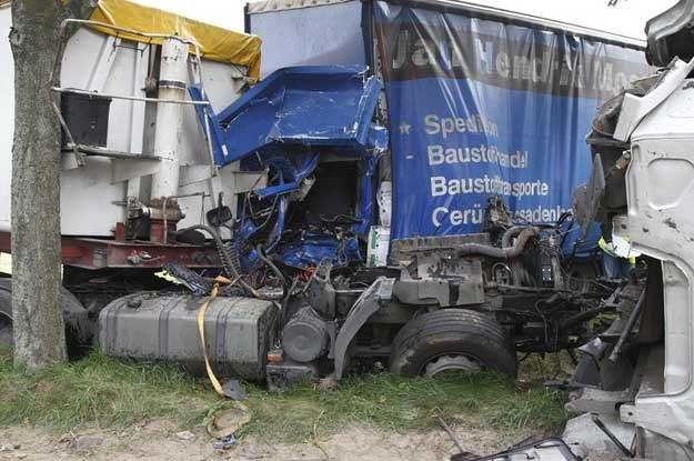 Kierowcy tzw. tirów spowodowali w ub.r. w  Polsce 868 wypadków... Fot. Maliszewski /Reporter