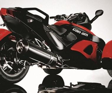 Kierowcy z kategorią B będą mogli prowadzić trójkołowe motocykle