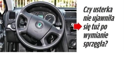 Kierownica jest lekko skręcona /Motor