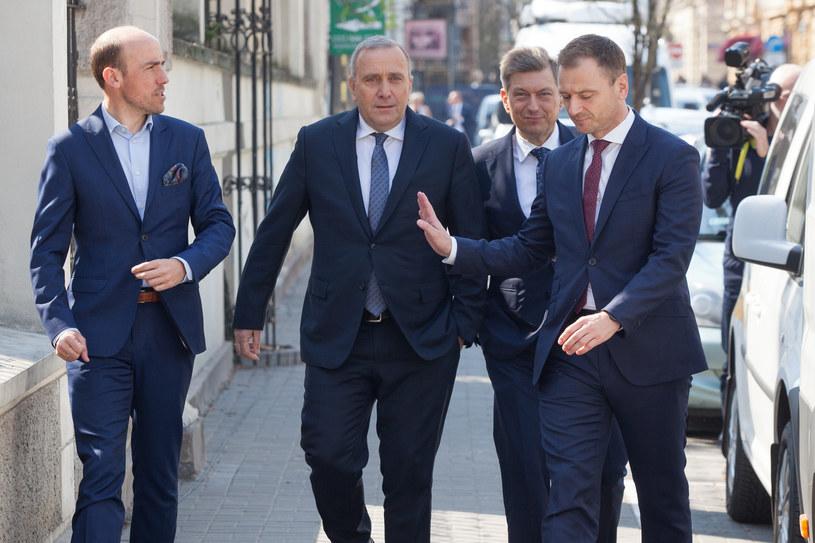 Kierownictwo PO /STEFAN MASZEWSKI/REPORTER /Reporter