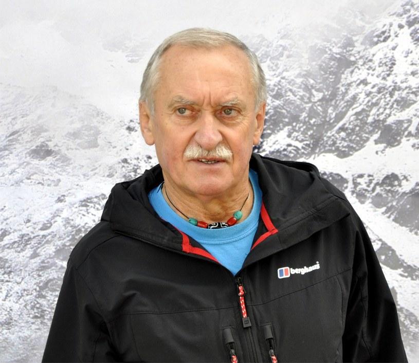 Kierownik wyprawy Krzysztof Wielicki /Albin Marciniak /East News