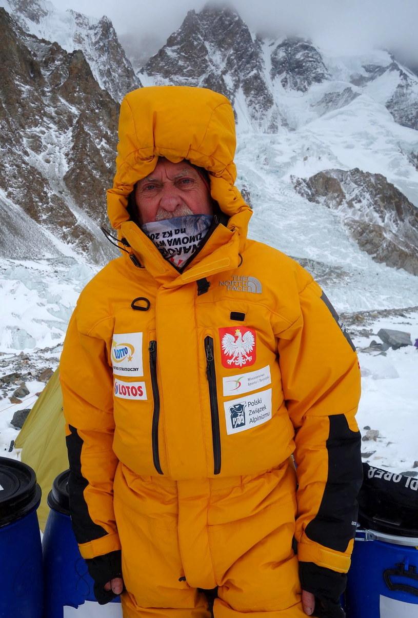 Kierownik wyprawy na K2 Krzysztof Wielicki /Narodowa Zimowa Wyprawa na K2 /PAP