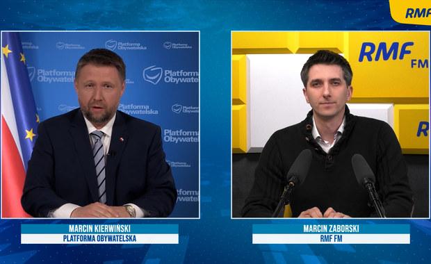 Kierwiński o sprawie Nowaka: To gra polityczna. Prokuratura przez 9 miesięcy nie umie postawić zarzutów