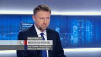 """Kierwiński w """"Gościu Wydarzeń"""" o reasumpcji głosowania: Pani marszałek Witek złamała prawo"""