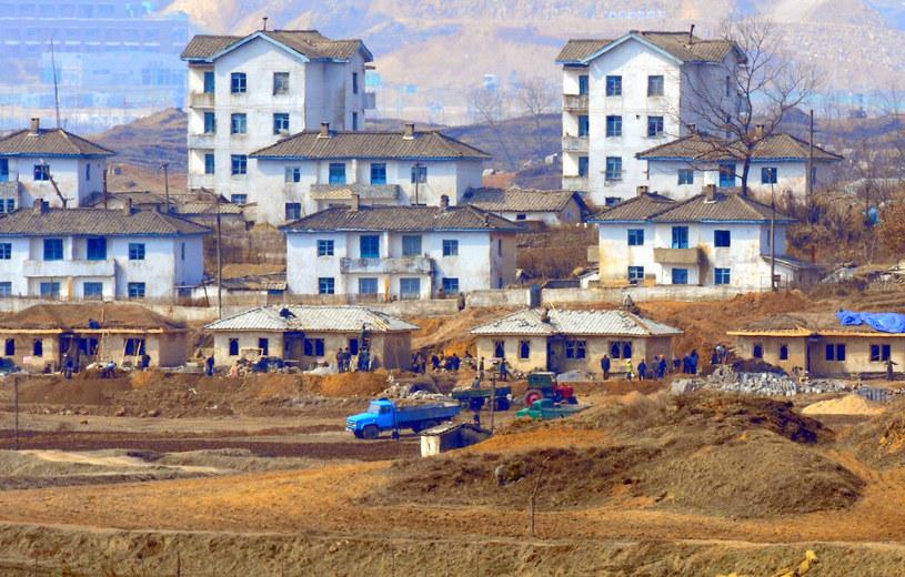 Kijŏngdong - Wioska Pokoju, a naprawdę komunistyczna tuba propagandowa /AFP