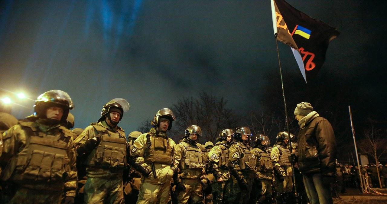Kijów: Policja starła się z nacjonalistami