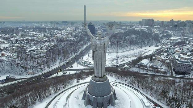 Kijów. Pomnik Matki Ojczyzny /©123RF/PICSEL