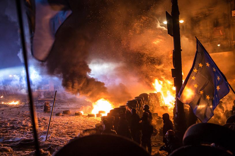 Kijów, styczeń 2014. /Getty Images